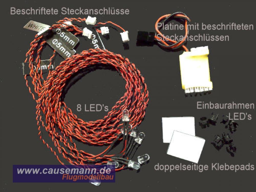 led beleuchtung f r flugzeuge und helicopter 17 90. Black Bedroom Furniture Sets. Home Design Ideas