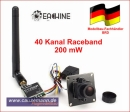 Eachine 700TVL 200mW 1/3 Cmos FPV 148 Degree Camera...