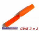 Propeller für Shockflyer Slowflyer Parkflyer GWS 3x2