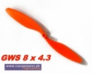Propeller für Shockflyer Slowflyer Parkflyer GWS 8x4.3...