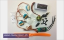 RC Set 180 Watt für Parkflyer