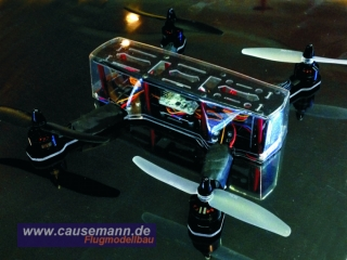 Haube / Dome für ZMR 250 Mini Race Quadcopter