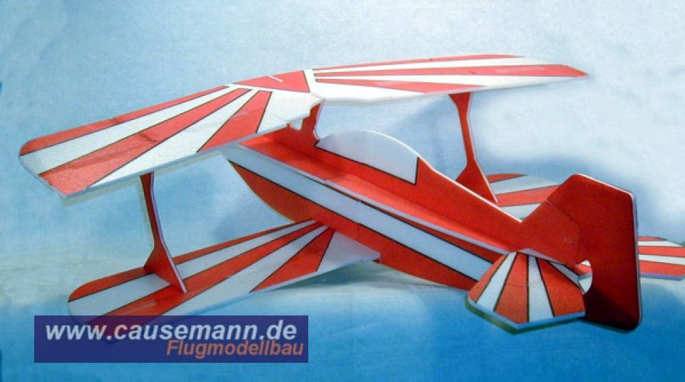 Schnäppchen zum Aktionspreis Doppeldecker Pitts DE Parkflyer