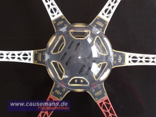 Dome Cover - Haube passend für DJI F550 Flame Wheel / D155