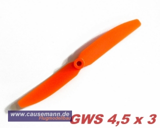 Propeller für Shockflyer Slowflyer Parkflyer GWS 4.5x3
