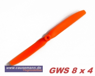 Propeller für Shockflyer Slowflyer Parkflyer GWS 8x4