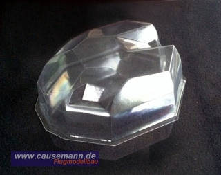 SpaceShip Mini Dome Cover Haube Quadrokopter Hexakopter Multikopter  PET 0,8mm, klar