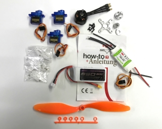 Power RC Set 240 Watt für Parkflyer